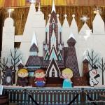 "New ""Frozen"" Gingerbread Display Debuts at Disney World's Contemporary Resort"