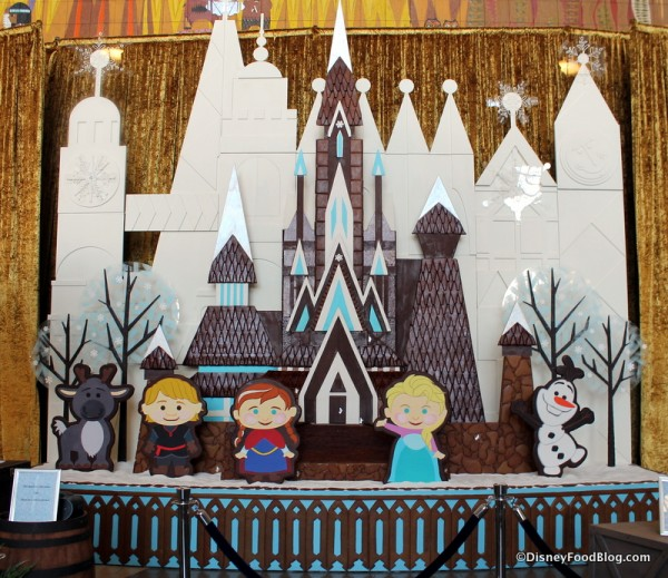 Contemporary Resort Gingerbread Display