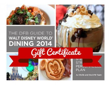 The DFB Guide Gift Certificate