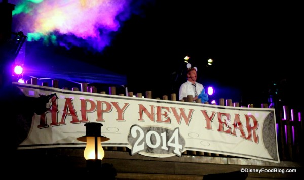DJ Entertains on New Year's Eve