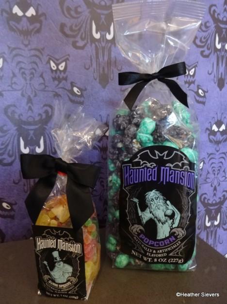 Haunted Mansion Gummies & Popcorn