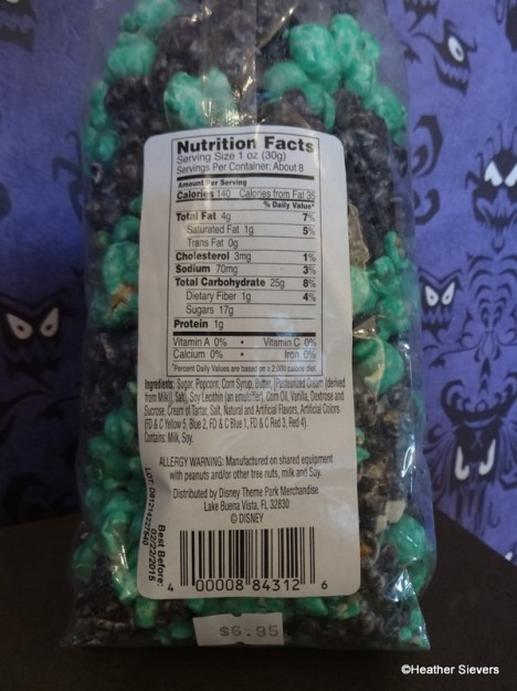 Nutrition Facts & Pricing