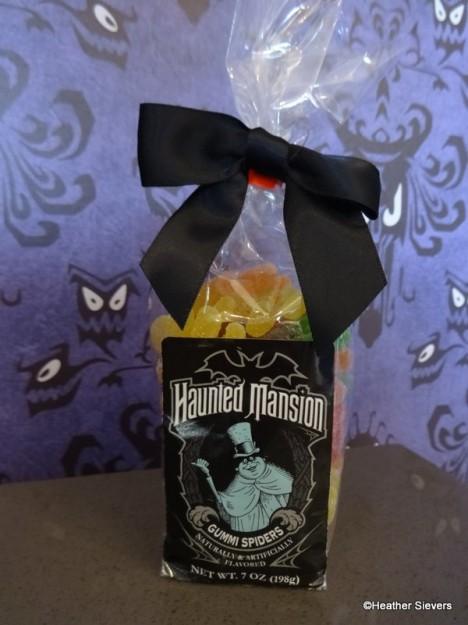 Haunted Mansion Gummi Spiders