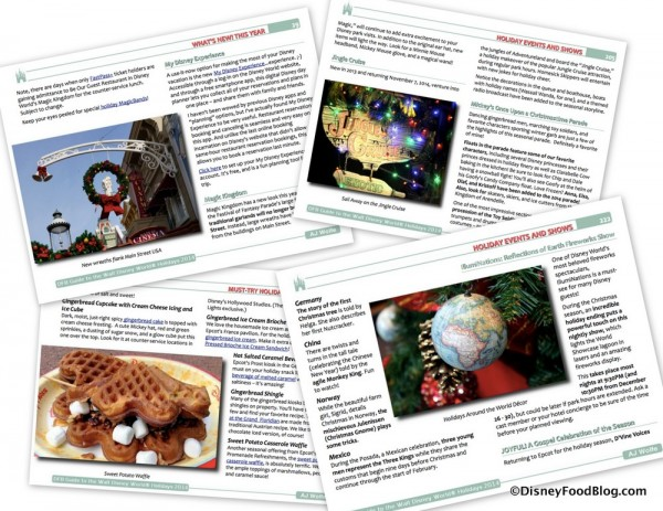 Holiday Guide Sample Pages
