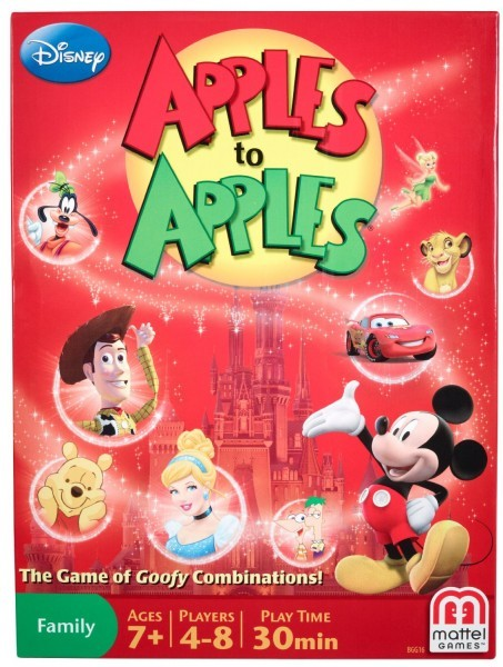 Apple to Apples Disney version