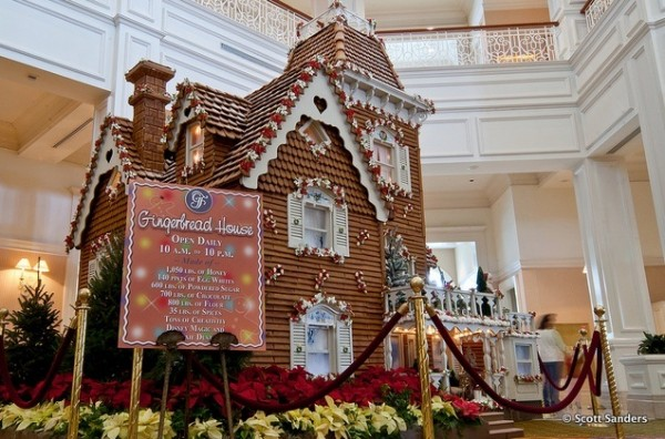 Gingerbread House at Disney's Grand Floridian Resort and Spa