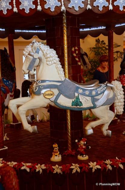 Carousel Horse at Disney's Beach Club