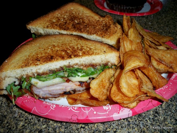 Hot Smokey Turkey Sandwich from Contempo Cafe