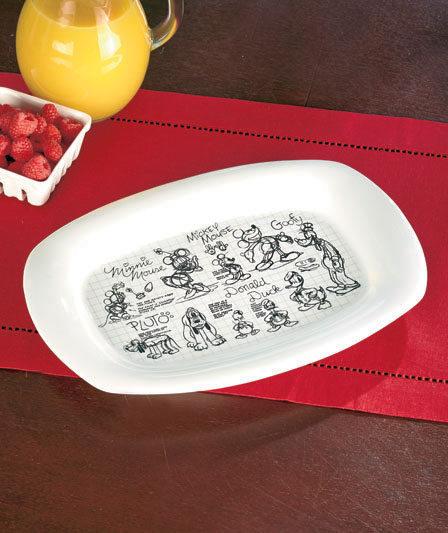 Disney Sketchbook Platter
