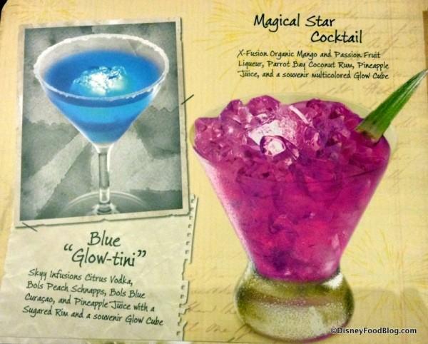 Glow drinks!