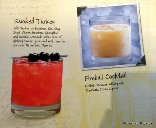 Smoked Turkey and Fireball Cocktail