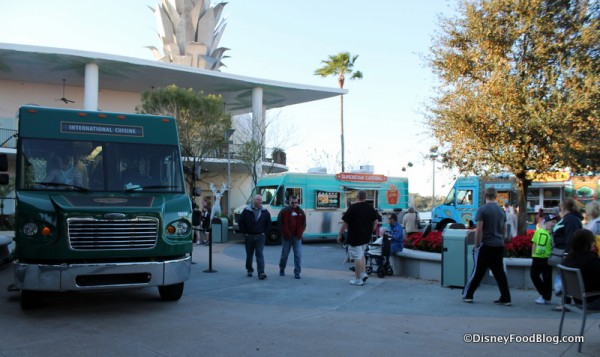 The Food Truck Park at Downtown Disney in Orlando