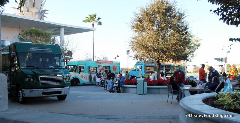 Exposition Park The Disney Food