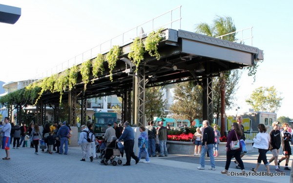 Entrance to Food Truck Park