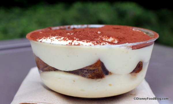 Side view of Tiramisu