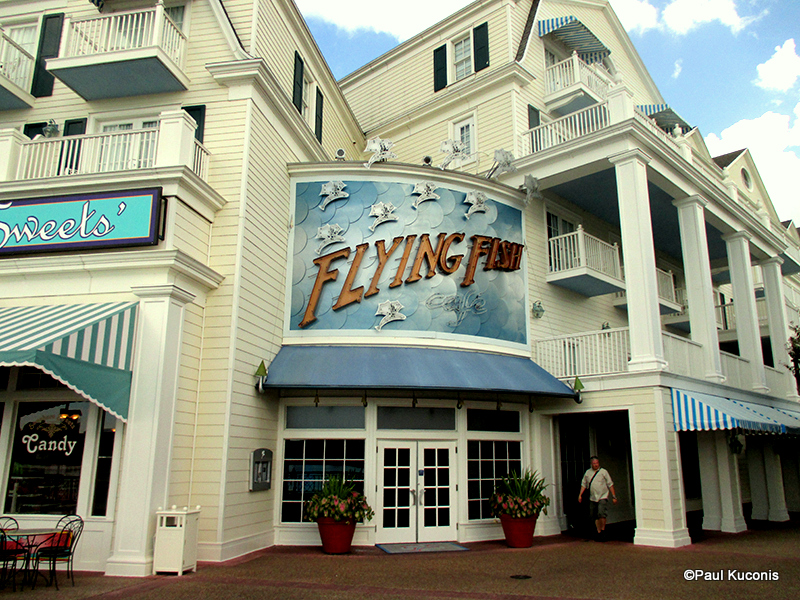 Guest review flying fish cafe at disney s boardwalk inn for Flying fish cafe disney