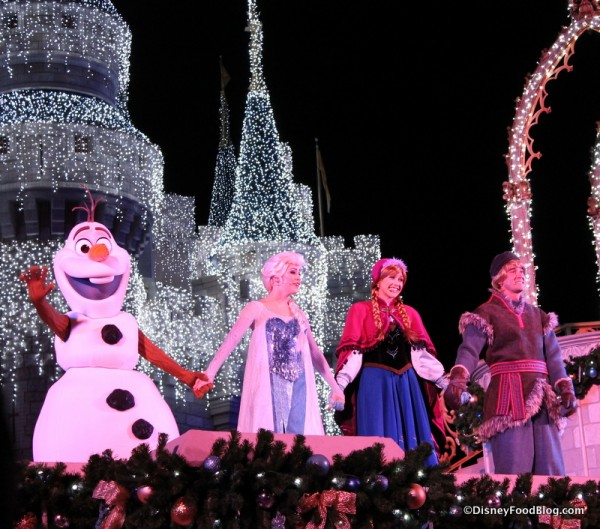 Frozen Holiday Wishes