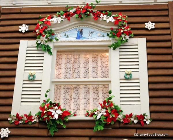 Gingerbread House window