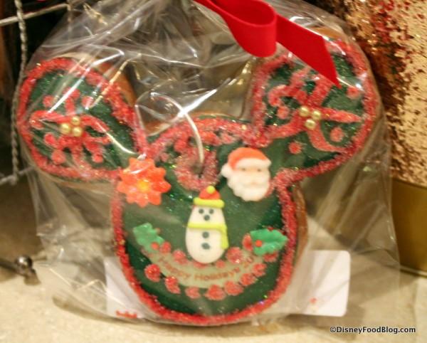 Mickey Gingerbread Ornament