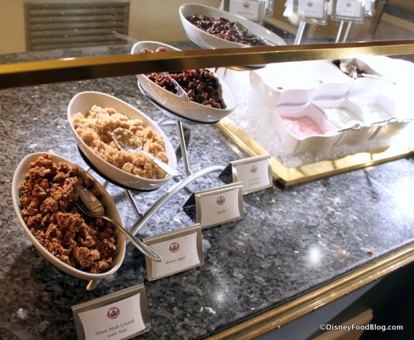 Granola, Brown Sugar, Dried Fruits