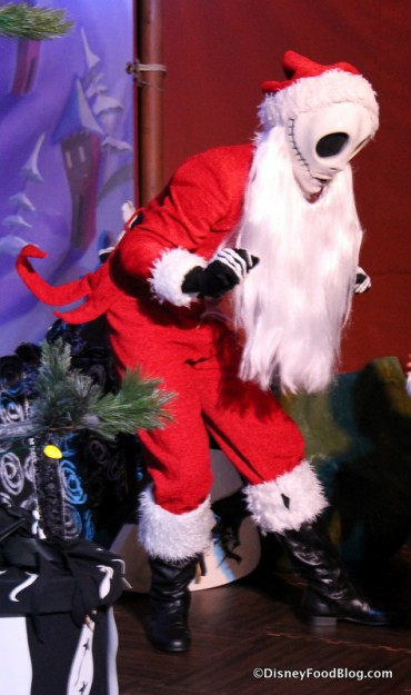 Jack Skellington Sandy Claws character meet