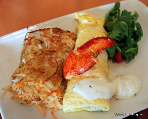 Lobster Omelet