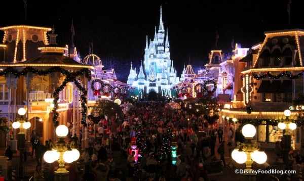 Magic Kingdom for the holidays