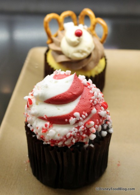 Chocolate Peppermint cupcake