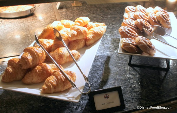Mini Croissants and Danish