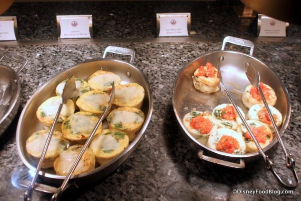 Mini Frittata of the Day, Egg White Tomato and Cheese Frittata