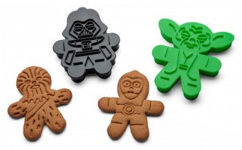 Star Wars Gingerbread Cookie Cutters
