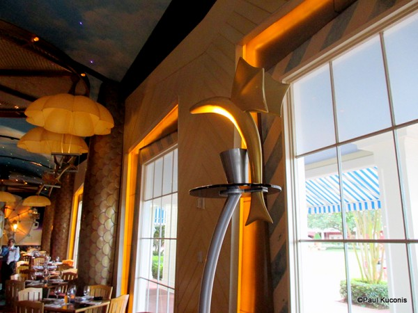 Flying Fish Light Fixture