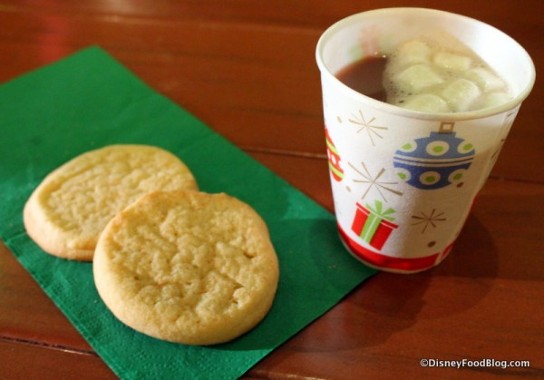 Snickerdoodles and hot cocoa