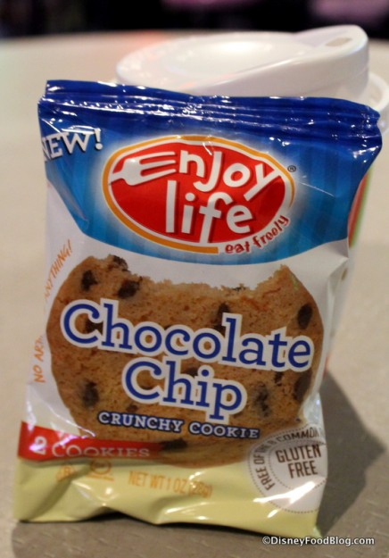 Enjoy Life chocolate chip cookies