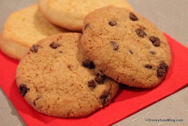 Enjoy life cookies in front of Snickerdoodles