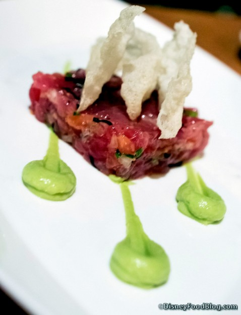 Tuna Poke Appetizer