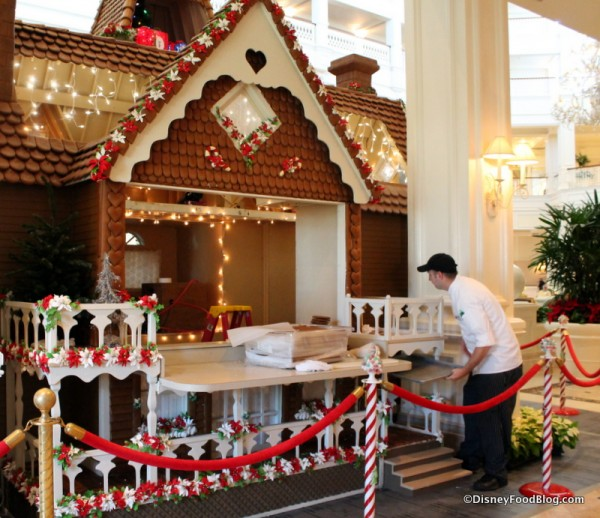 Building the Grand Floridian Gingerbread House