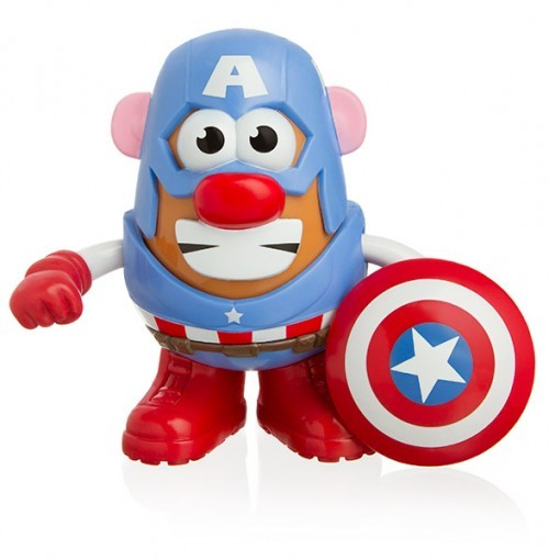 Captain America Potato Head