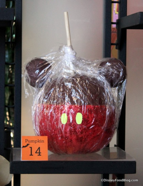 Candy Apple pumpkin