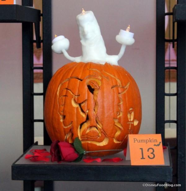 Beauty and the Beast pumpkin
