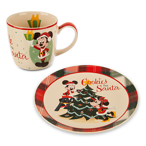 Cookies for Santa Mug and Plate Set