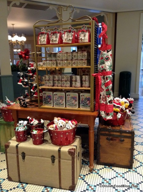 Holiday Merchandise display