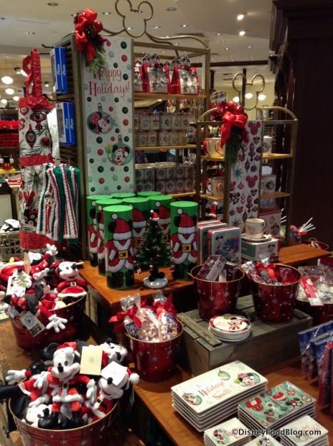Holiday Merchandise display