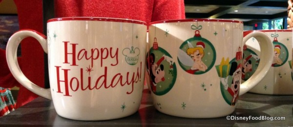 Happy Holidays mug