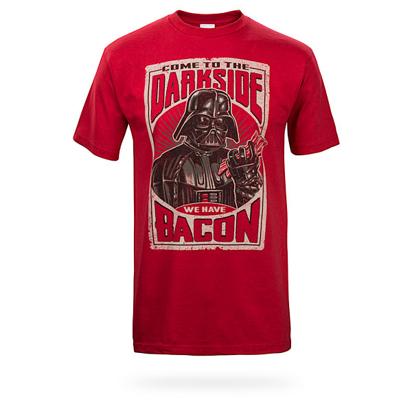 The Dark Side Has Bacon T-shirt