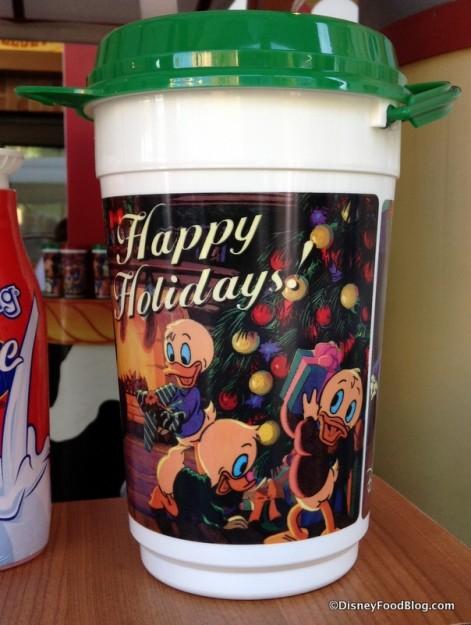 Holiday Popcorn Bucket