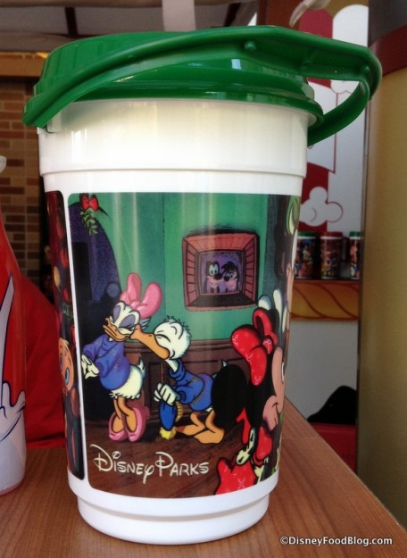 Holiday Popcorn Bucket