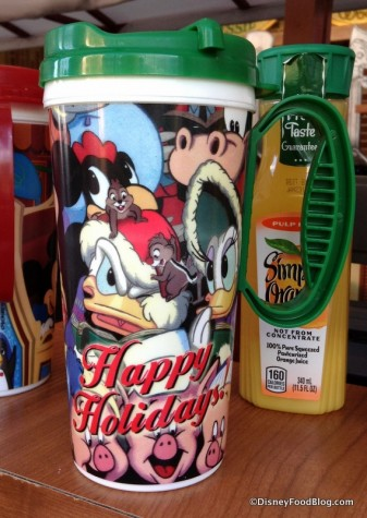 Holiday souvenir cup