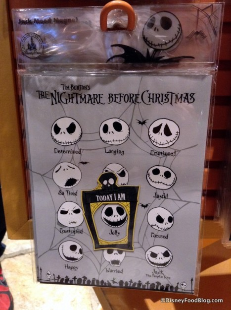 Jack Skellington Mood Magnets
