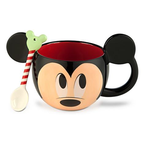 Mickey Spoon and Mug Set